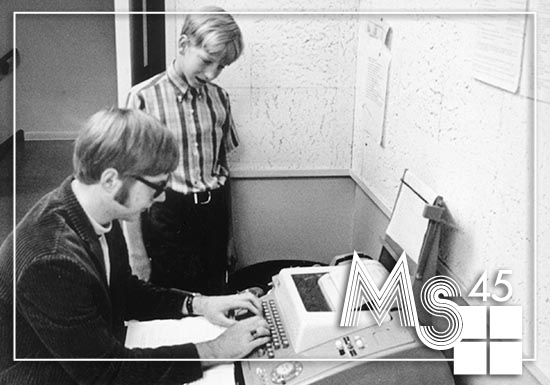 [MS@45] Enhanced Artifact Spotlight: Going Back to the Beginning with the Teletype Model 33 ASR